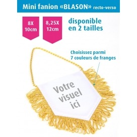 Mini fanion BLASON