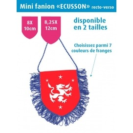 Mini fanion ECUSSON