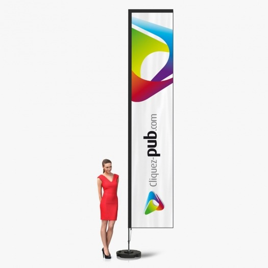 Kit complet Vertical Flag - 4m20